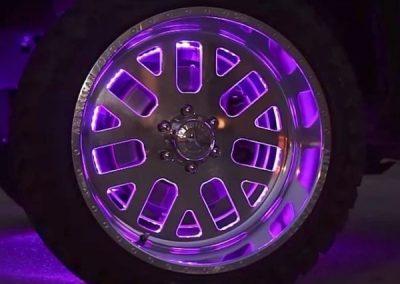 Addressable RGB LED Strip For Wheel Lighting