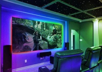 Addressable RGB LED Strip For wall Lighting