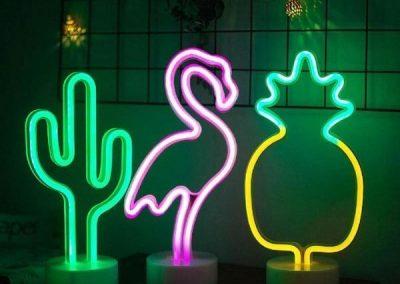 Custom Neon Lights For Bed Lamp