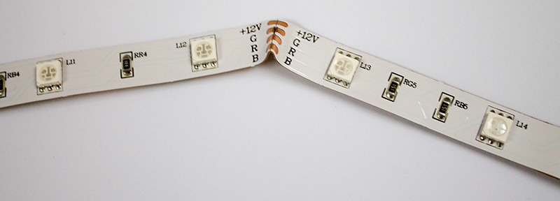 Bending your LED strip 5050