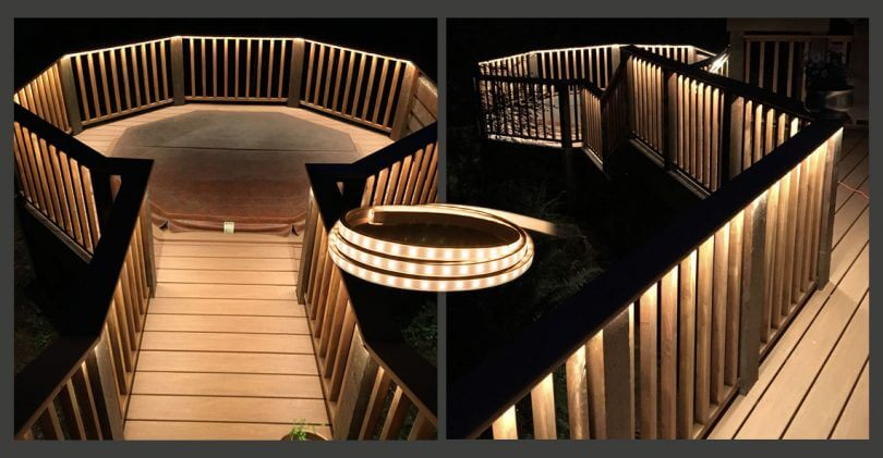 Custom LED Light Strip_Outdoor Project