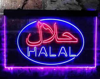 Custom LED Neon Light in Both Arabic and English Language