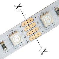 Cutting a Rigid LED strip