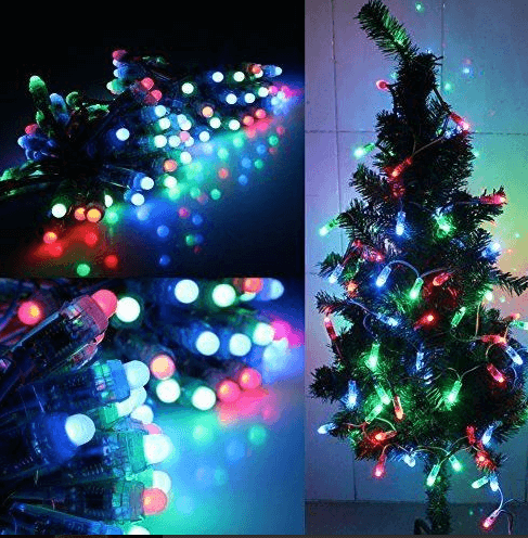 Lighting effects in LED string lights
