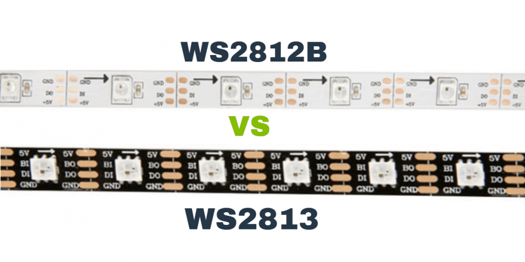 WS2812B and WS2813