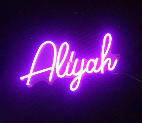 Custom Name Neon Lights