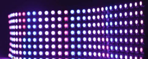 Pixel Matrix for Smart Pixel String Lights