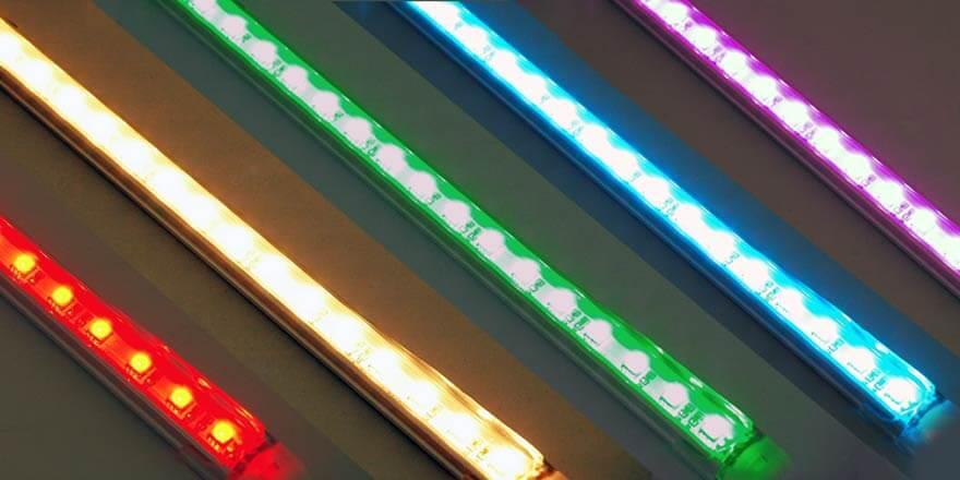 Color for DMX LED bar