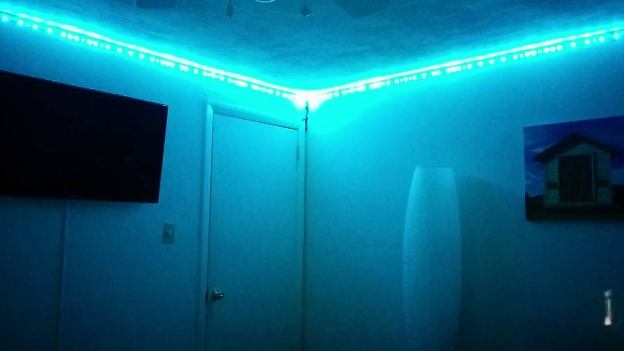Adressable RGB Strip Installation Around Corners