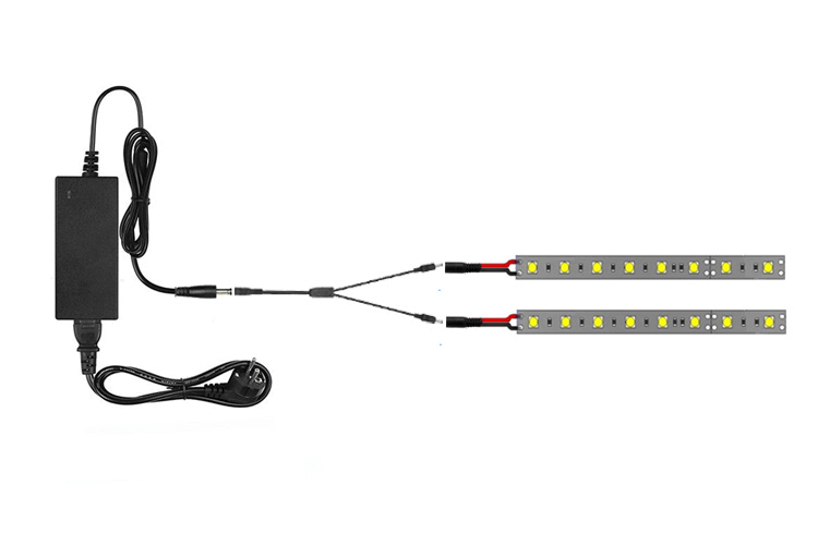 How to connect RGB LED tapes to the main power supply