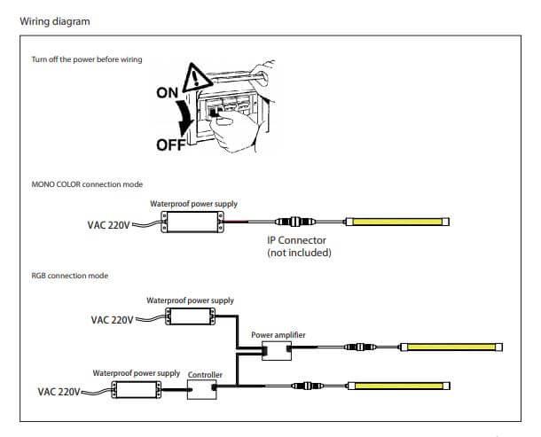 Precautions for Neon Flex RGB
