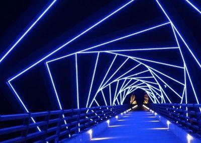 LED Neon Flex RGBW For Bridge