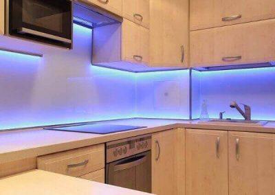 LED Tape Under Cabinet Lighting For Kitchen