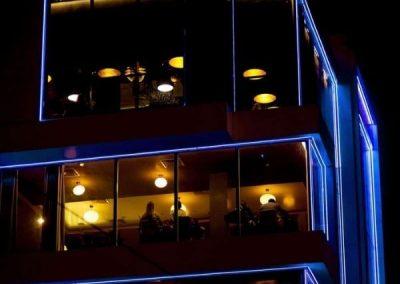 Neon Flex RGB For Building Exterior