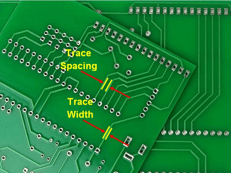 PCB Track Width and Track Resistance