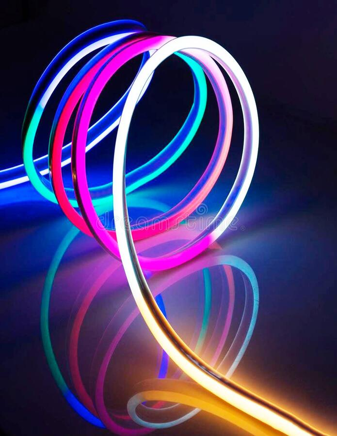 Wires for neon tape lights