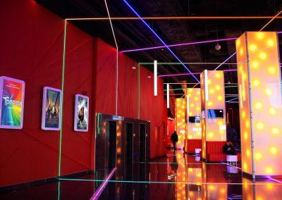 Indoor Entertainment Center
